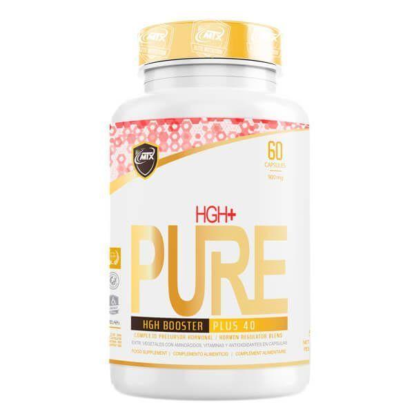 HGH+ envase de 60 cápsulas de MTX Nutrition (Complejos H Crecimiento)