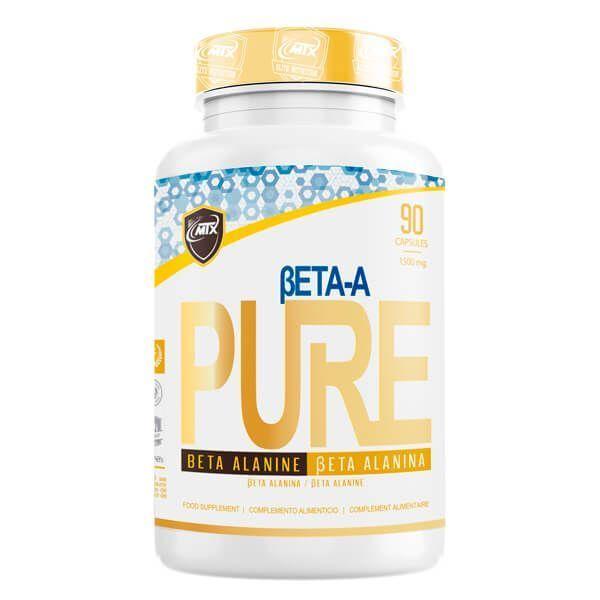 Beta-A envase de 90 cápsulas de MTX Nutrition (Beta-Alanina)