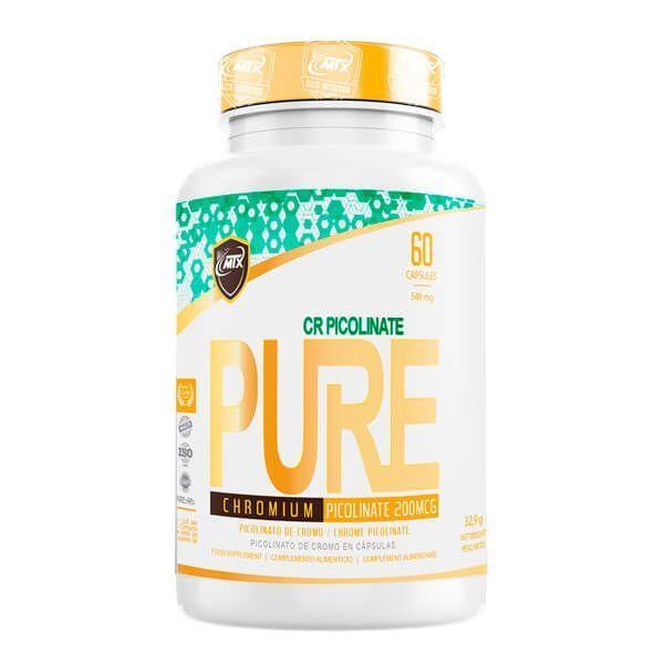 Cr Picolinate de 60 cápsulas de la marca MTX Nutrition (Otros Quemadores)