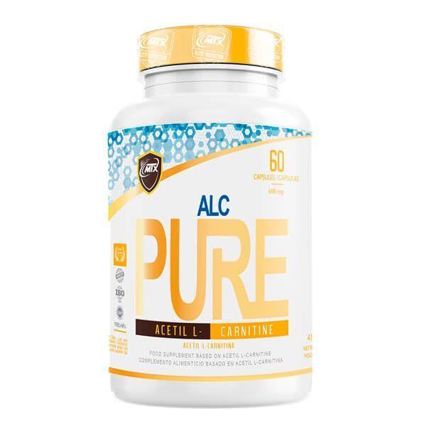 ALC de 60 cápsulas de la marca MTX Nutrition (L-Carnitina)