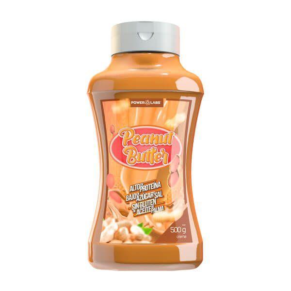 Crema de Cacahuete envase de 500g de Power Labs (Cremas de Cacahuete)