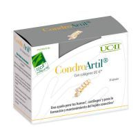 CondroArtil con Colágeno UC-II envase de 30 cápsulas de 100%Natural (Formulas Mejoras Articulares)
