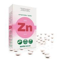 Zinc envase de 48 tabletas de Soria Natural (Minerales)