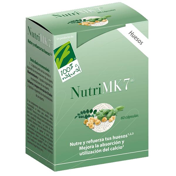 Nutrimk7 Huesos de 60 cápsulas del fabricante 100%Natural (Formulas Mejoras Articulares)