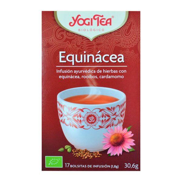 Equinácea envase de 17 bolsitas del fabricante Yogi Organic (Infusiones y tisanas)