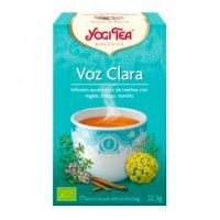 Voz Clara de 17 bolsitas de Yogi Organic (Infusiones y tisanas)