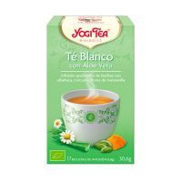Té Blanco con Aloe Vera envase de 17 bolsitas del fabricante Yogi Organic (Infusiones y tisanas)