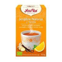 Jengibre Naranja y Vainilla de 17 bolsitas de Yogi Organic (Infusiones y tisanas)