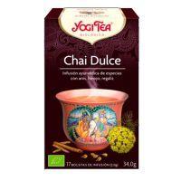 Chai Dulce de 17 bolsitas de la marca Yogi Organic (Infusiones y tisanas)