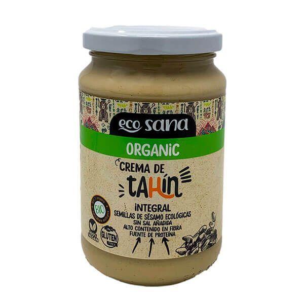 Crema de Tahín Bio envase de 350g del fabricante EcoSana (Cremas de otros Frutos Secos)