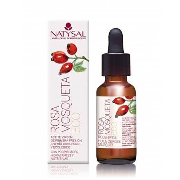 Aceite Rosa Mosqueta envase de 30ml de NaturLíder (Aceites Esenciales)