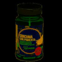 Cúrcuma Con Pimienta envase de 30 cápsulas del fabricante NaturLíder (Cuidado de las Articulaciones)
