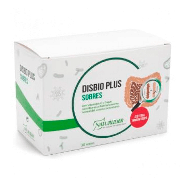 Disbio Plus envase de 30 sobres del fabricante NaturLíder (Digestivos)