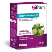 Depurativo Alcachofa de 20 víales de la marca Biform (Diuréticos)