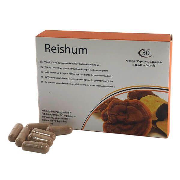 Reishium de 30 cápsulas del fabricante 500Cosmetics (Sistema Inmunológico)