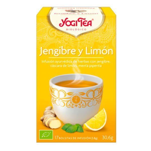Yogi Tea Jengibre y Limón de 17 bolsitas del fabricante Yogi Organic (Infusiones y tisanas)