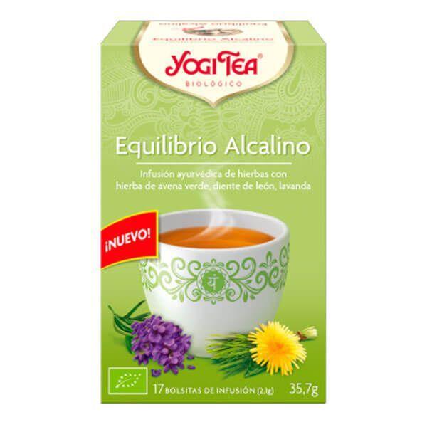 Yogi Tea Equilibrio Alcalino envase de 17 bolsitas de la marca Yogi Organic (Infusiones y tisanas)
