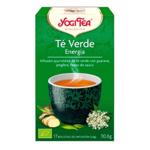 Yogi Tea Té Verde Energía de 17 bolsitas del fabricante Yogi Organic (Infusiones y tisanas)