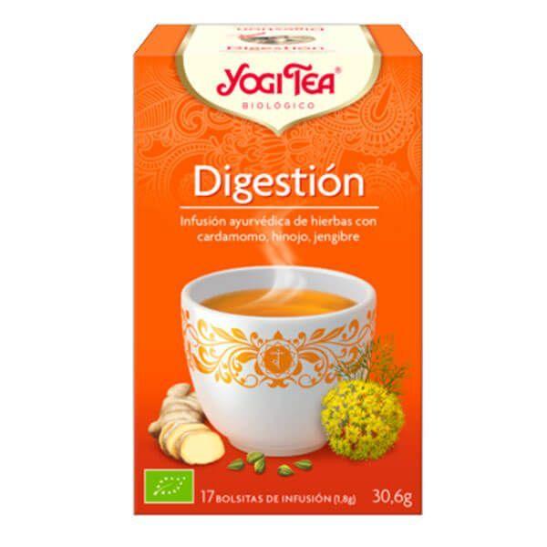 Yogi Tea Digestión de 17 bolsitas del fabricante Yogi Organic (Infusiones y tisanas)