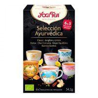 Yogi Tea Selección Ayurvédica de 18 bolsitas variadas de la marca Yogi Organic (Infusiones y tisanas)