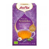 Yogi Tea Para los Sentidos Felices Sueños envase de 20 bolsitas de la marca Yogi Organic (Infusiones y tisanas)
