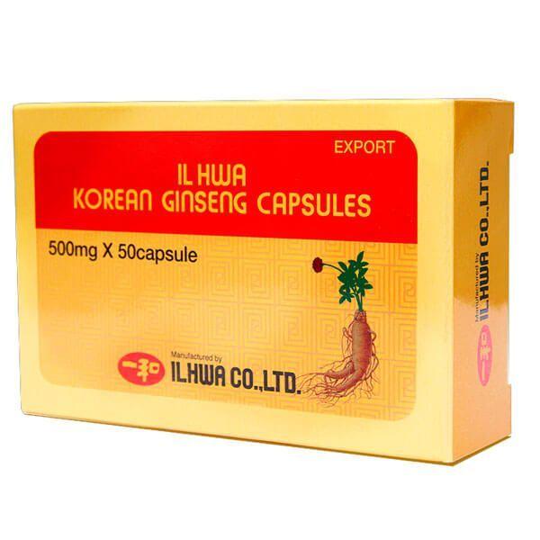 Ginseng Coreano IL HWA de 50 cápsulas de Tongil (Sistema Inmunológico)