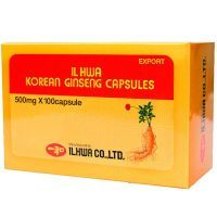Ginseng Coreano IL HWA de 100 cápsulas de Tongil (Sistema Inmunológico)
