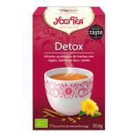 Yogi Tea Detox de 17 bolsitas del fabricante Yogi Organic (Infusiones y tisanas)