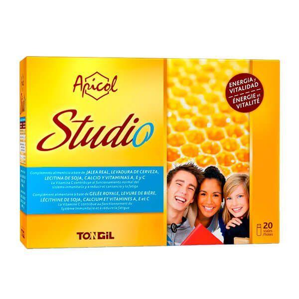 Apicol Studio de 20 viales del fabricante Tongil (Sistema Inmunológico)
