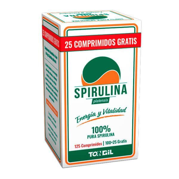 Spirulina - 125 comprimidos Tongil - 1