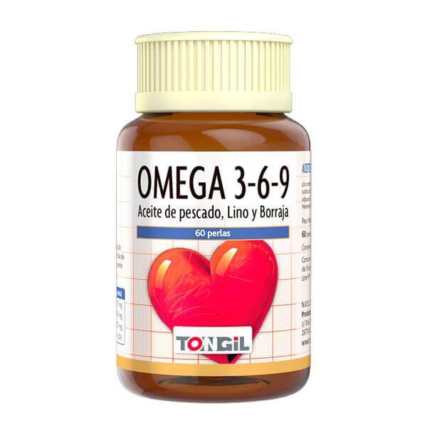 Omega 3-6-9 de 60 softgels de la marca Tongil