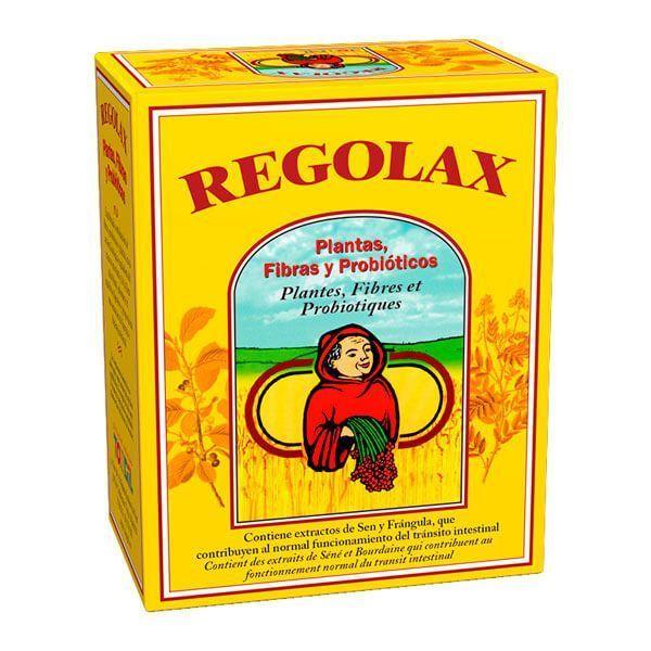 Regolax envase de 50 cápsulas de la marca Tongil (Digestivos)