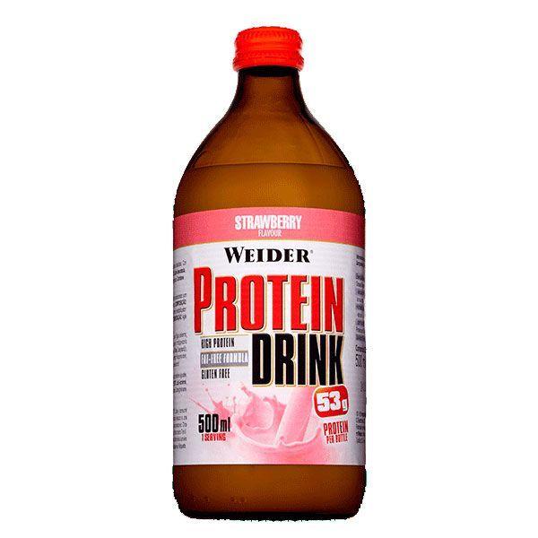Bebida Proteíca envase de 500ml del fabricante Weider (Bebidas Proteicas)