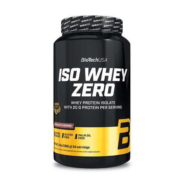 Ulisses Iso Whey Zero envase de 1.3 kg de la marca Biotech USA (Proteína de Aislado de Suero Isolate)
