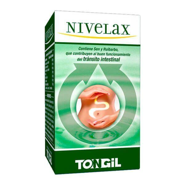 Nivelax envase de 30 cápsulas del fabricante Tongil (Digestivos)