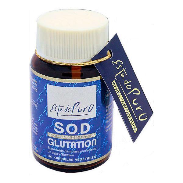 Estado Puro S.O.D Glutation de 30 cápsulas de Tongil (Protectores Hepáticos)