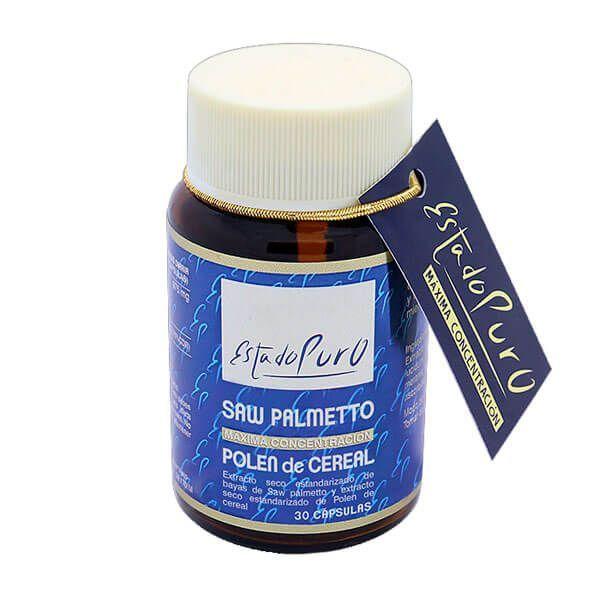 Estado Puro Saw Palmetto con Polen de Cereal de 30 cápsulas del fabricante Tongil (Prostata)