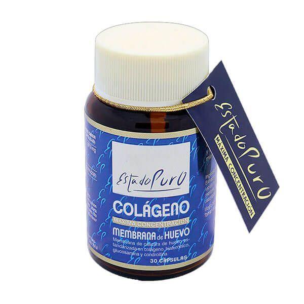 Estado Puro Colágeno Membrana de Huevo de 30 cápsulas de Tongil