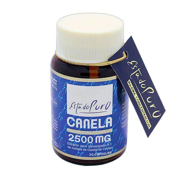 Estado Puro Canela 2.500mg de 30 cápsulas del fabricante Tongil (Sistema Circulatorio)