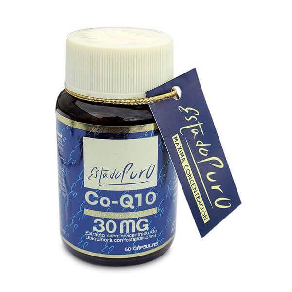 Estado Puro Coenzima Q10 30mg de 60 cápsulas de Tongil (Anti-Envejecimiento)