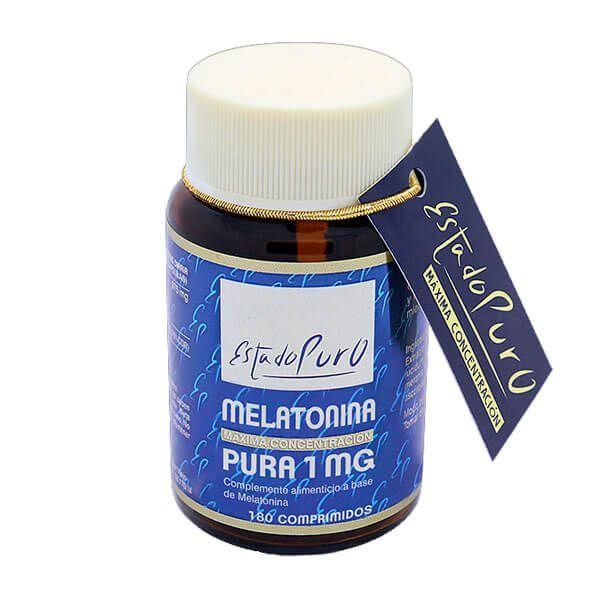 Estado Puro Melatonina Pura 1mg envase de 180 tabletas de Tongil (Mejora del sueño)