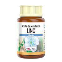 Aceite de Lino envase de 60 softgels de la marca Tongil (Ácidos Grasos)