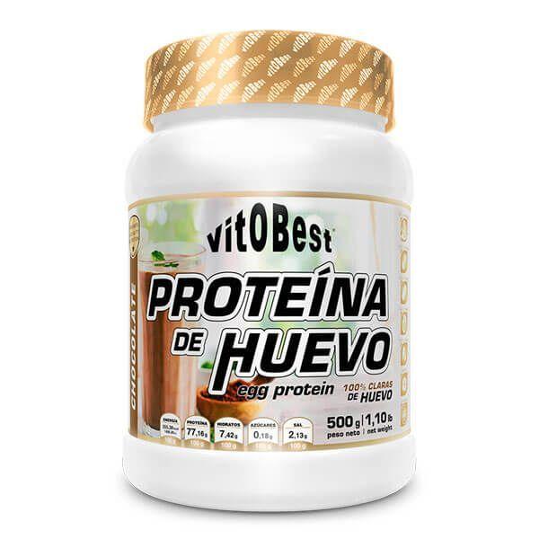 Proteína de Huevo envase de 500g del fabricante VitoBest