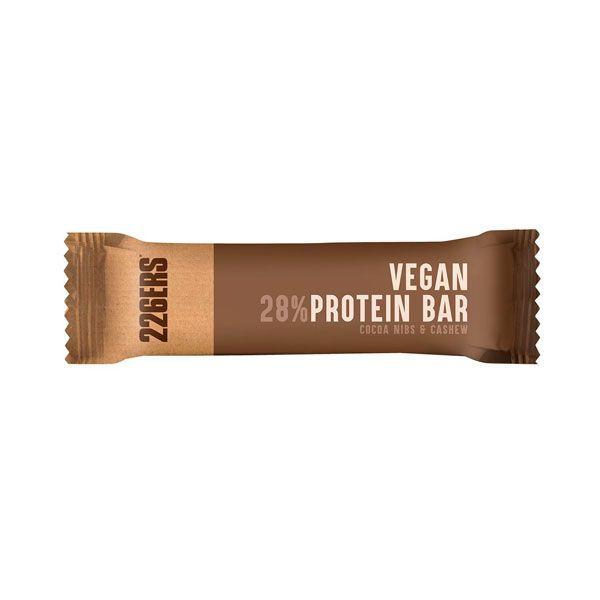 Vegan Protein Bar envase de 40g del fabricante 226ERS (Barritas de Proteinas)