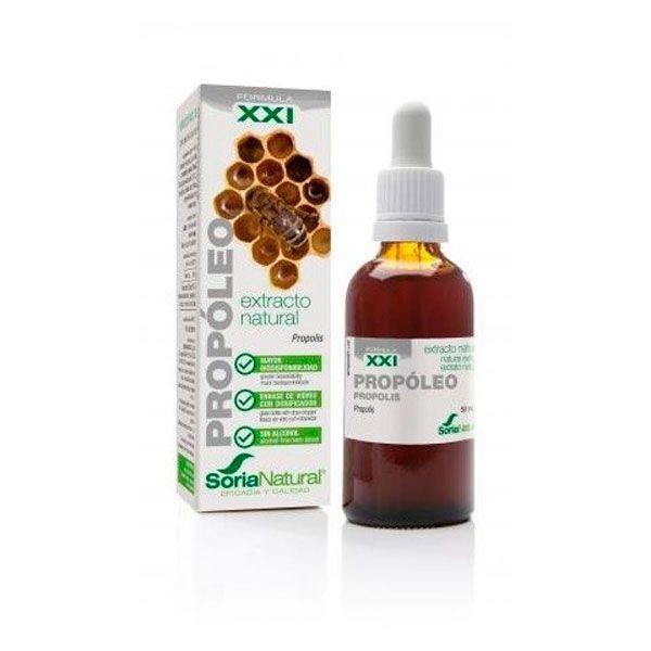 Extracto Natural de Propóleo S XXI de 50ml de Soria Natural (Sistema Inmunológico)
