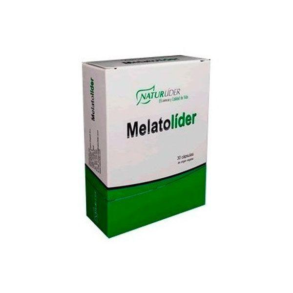 Melatolíder de 30 tabletas retard de la marca NaturLíder (Mejora del sueño)