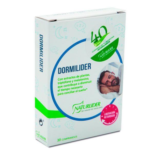 Dormilider de 30 tabletas del fabricante NaturLíder (Mejora del sueño)