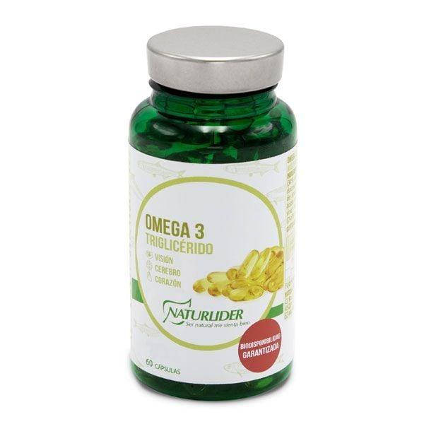 Omega 3 Triglicérido de 60 softgels de la marca NaturLíder