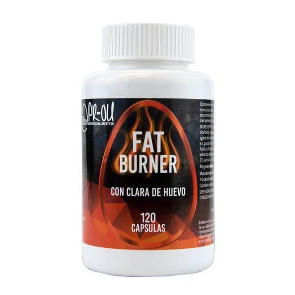 Fat Burner de 120 cápsulas de PR-OU Egg Protein (Termogénicos)