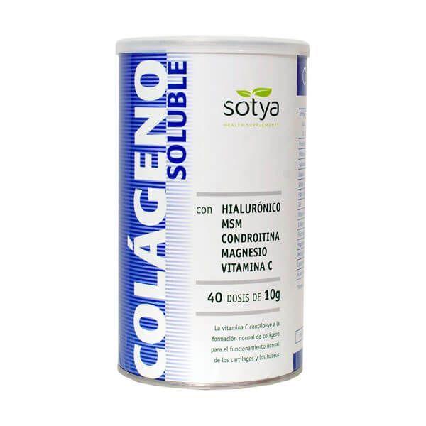 Colágeno Soluble envase de 400g de Sotya Health Supplements